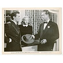 MOVIE PHOTO: Johnny O'Clock-Dick Powell-Evelyn Keyes-8x10-B&W-Still