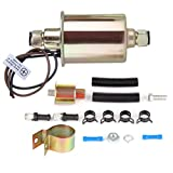 Electric Fuel Pump High Performance Universal With Installation Kit Low Pressure 5-9 psi E8012S