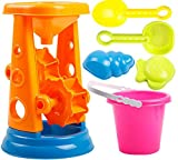 Kid's Beach Sand Toys Baths Pools Set 6PCS