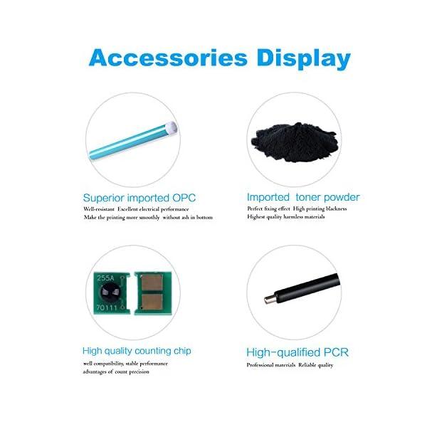proffisy 30A for HP CF230A Toner Cartridge Without chip Compatible HP Laserjet Pro M203,M203d,M203dn,M203dw,M227,M227sM227d,M227fdn,M227fdw,M227sdn MFP (1pcs - Without chip)