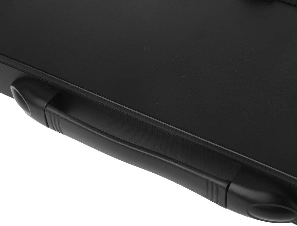 Noir A0127 Trieur Dossier Paquet en couches Dossier dextension /à plusieurs niveaux Sac dorgue A4 Mallette /étanche Sac de rangement Bouton Fournitures de bureau Papeterie d/étudiant