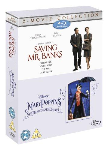 Saving Mr Banks & Mary Poppins [Blu-ray] [Region Free]