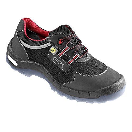 Otter 93712/517–41 Premium Arbeitshose Schwarz/Rot, Cordura Schuhe Niedrig S2, Schwarz/Rot, Arbeitshose Größe 41 - 376aa4