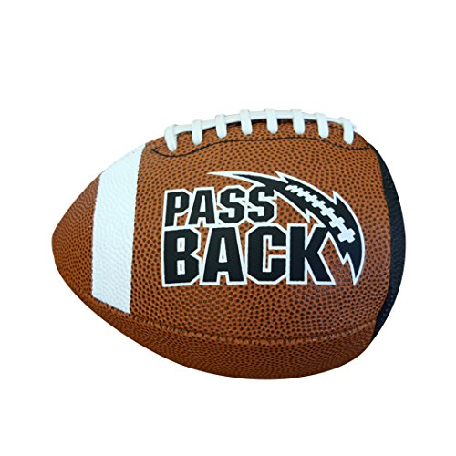 Passback Football - Junior Size (13 and Under) Composite Bounce Back Training
