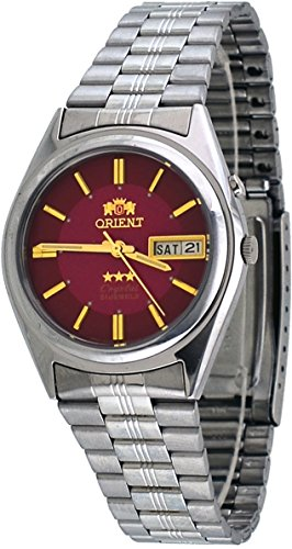 Orient #BEM6Q002H Men's Tri Star Standard Self Winding Automatic Watch
