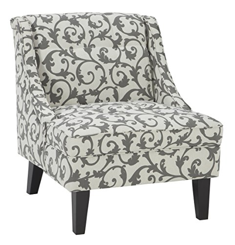 Ashley Furniture Signature Design - Kexlor Accent Chair - Vine Design - Gray