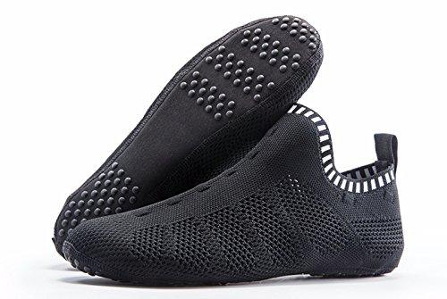 Like Sock Black ONEMIX Shoes Gladiator Multiple Fashion Women's White Shoes Sneakers Sandals Wear 1q0RwUT