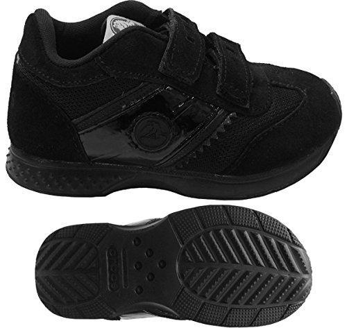 Crocs Retro Runner Sneaker (Toddler/Little Kid),Black,12 M US Little Kid