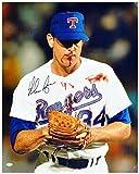 "Nolan Ryan Texas Rangers Autographed 16"" x 20"" Bloody Lip Photograph - Fanatics Authentic Certified - Autographed MLB Photos"