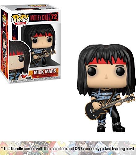 Funko Mick Mars POP! Rocks x Mötley Crüe Vinyl Figure + 1