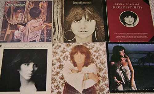 LINDA RONSTADT: Self-titled, Simple Dreams, Heart Like A Wheel, Don't Cry Now, Hasten Down The Wind, Greatest Hits [6 Album Lot] (Linda Ronstadt Heart Like A Wheel Vinyl)