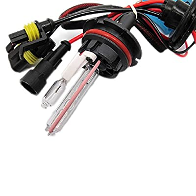 9004 9007 Dual Beam HID Xenon Replacement Bulbs For Aftermarket HID kits
