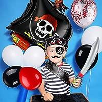 98 Piezas de Decoración de Fiesta de Cumpleaños Pirata ...