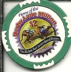 Amazon Com 2 Derby Lane Million Casino Chip St