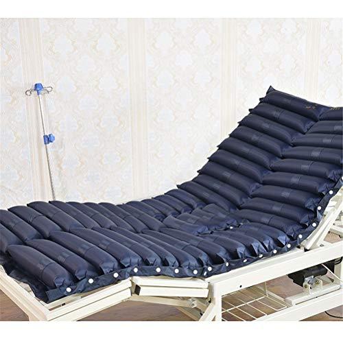 Colchón inflable anti decúbito, médico preVienen la raya decúbito sola cama cuidado Cojín inflable hemorroides anti encentadura, 200 cm x 90 cm: Amazon.es: ...