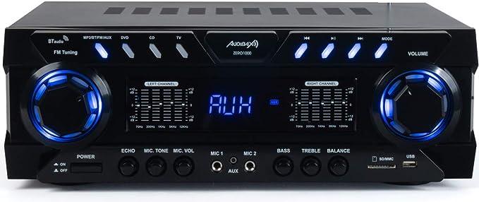Audibax Zero 1000 Amplificador HiFi Bluetooth Karaoke 80 + 80W con ...