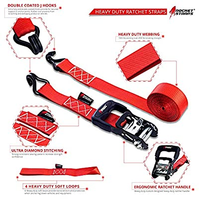 Rocket Straps - Heavy Duty Ratchet Straps | 1.5