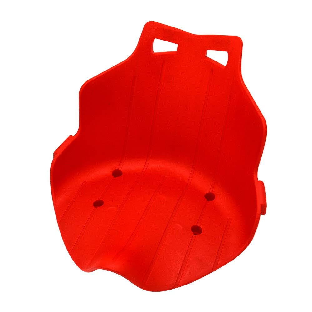 J6Mall Plastic Seat Replacement Fit for Hover Cart Kart Hoverboard Stand Holder Red CN - by J6Mall