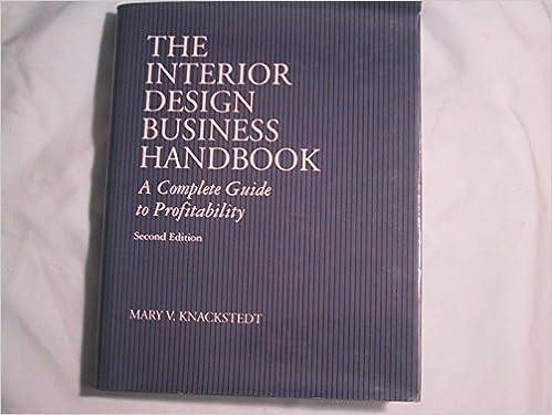 Amazon Interior Design Business Handbook 9780442011284 Mary V Knackstedt Books