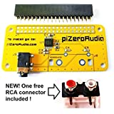Audio DAC HAT Sound Card for Raspberry Pi Zero / A+ / B+ / Raspberry Pi 2 Model B