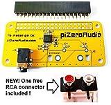 Audio DAC HAT Sound Card for Raspberry Pi Zero / A+ / B+ / Pi 2 : Pi 3 Model B / Better quality than USB