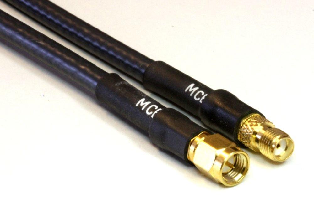 LMR-400 Antenna cable - sma-type macho - sma-type hembra - 25 m | veces microondas fabricado en el Estados Unidos LMR400 50 0HM Coxial Cable: Times ...