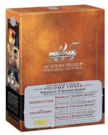 Academy Award Winning Movies - Volume III (The English Patient/Il Postino/Shakespeare in Love) by Miramax Home Entertainment