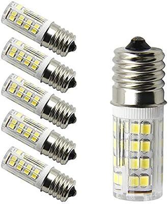 UNIQUEJASON - Bombillas LED para electrodomésticos, como hornos de ...