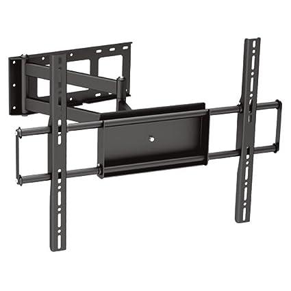 Amazoncom Black Full Motion Tiltswivel Corner Friendly Wall Mount