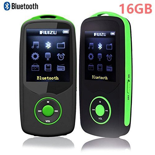 DeeFec Portable Hi-Fi 16GB Bluetooth MP3 Music Player with F
