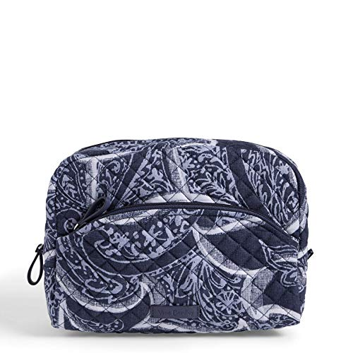 Vera Bradley Iconic Large Cosmetic, Signature Cotton, Indio, One Size