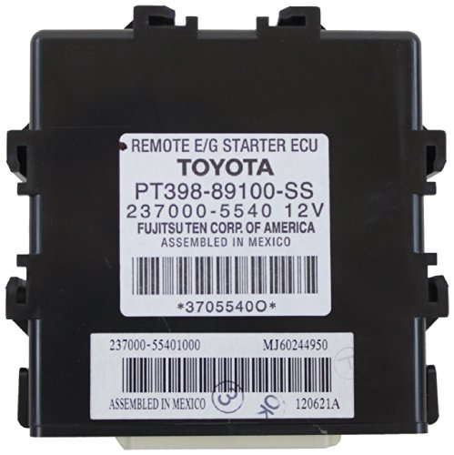 Genuine Toyota Accessories PT398-89100-SS Remote Engine - Engine Starter Remote Install