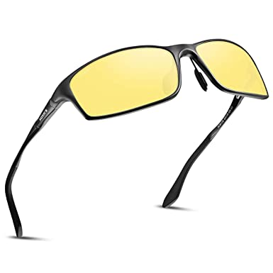 UV Anti-glare YIMI Polarized Sports Sunglasses Day and night Driving glasses
