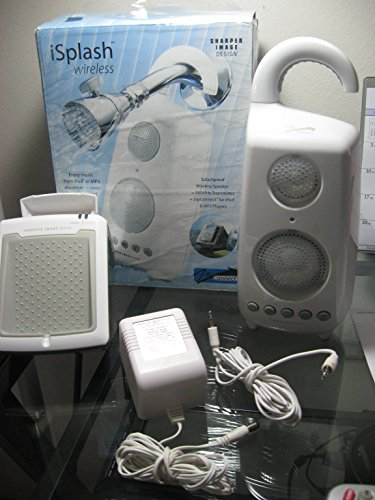 iSplash Wireless Speaker and Transmitter for iPod and MP3 Players -  Sharper Image, SR286