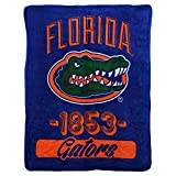 NCAA Collegiate 'Varsity' Super Soft Plush Throw Blanket 46' x 60' (Florida Gators)