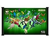 "Ben 10 Cartoon Fabric Wall Scroll Poster (26"" x 16"") Inches"