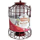 NEW SQUIRREL GUARD HANGING BIRD NUT FEEDER GARDEN BIRDS FEEDING FEED STATION
