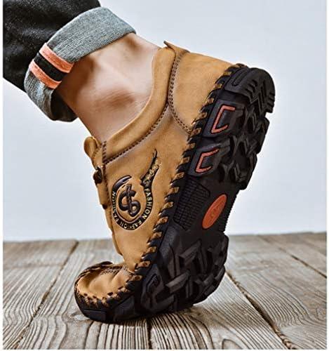 アウトドアシューズ メンズ 防水 トレッキングシューズ 登山靴 ソフト 滑り止め スポーツ カジュアルシューズ 皮靴 レースアップ アウトドア ローファー トレッキングシューズ メンズ ローカット 幅広