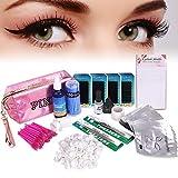 Best Eyelash Extension Kits - Full Professional Eyelash Extension Kit, TopDirect C Curl Review