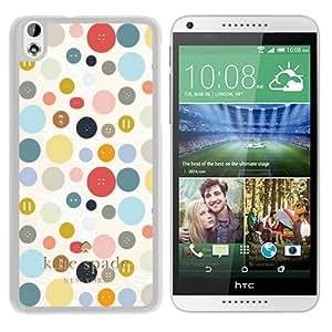 Unique Designed Kate Spade Cover Case For HTC Desire 816 White Phone Case 57