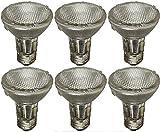 Philips 419861 EcoVantage 50 Watt Equivalent PAR20 Dimmable Flood Light Bulb 6-Pack