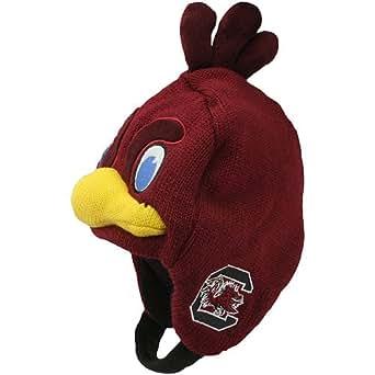 NCAA South Carolina Gamecocks Toddler Mascot Knit Hat - Garnet