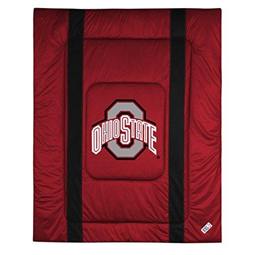 Sports Coverage NCAA Ohio State Buckeyes Sideline Comforter (Ohio State Buckeyes Sideline Jersey)
