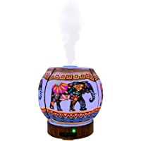 EssentialLitez Essential Oil Diffuser Ultrasonic Handcrafted 120ml Aroma Essential Oil Cool Mist Humidifier with…