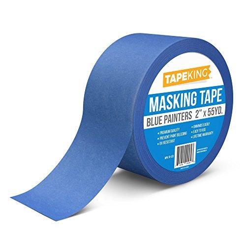 Tape King Blue Painters Tape  Multi Use Masking 2  X 55 Yards Single Roll