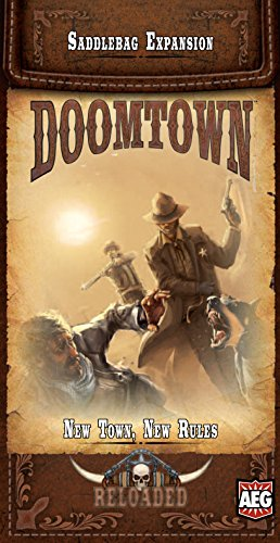 Saddlebag New - Doomtown: Reloaded - New Town, New Rules - Saddlebag Expansion