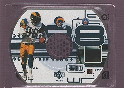 TORRY HOLT ST. LOUIS RAMS POWER DECK DIE CUT CD 1999 UPPER DECK POWERDECK CD-ROM