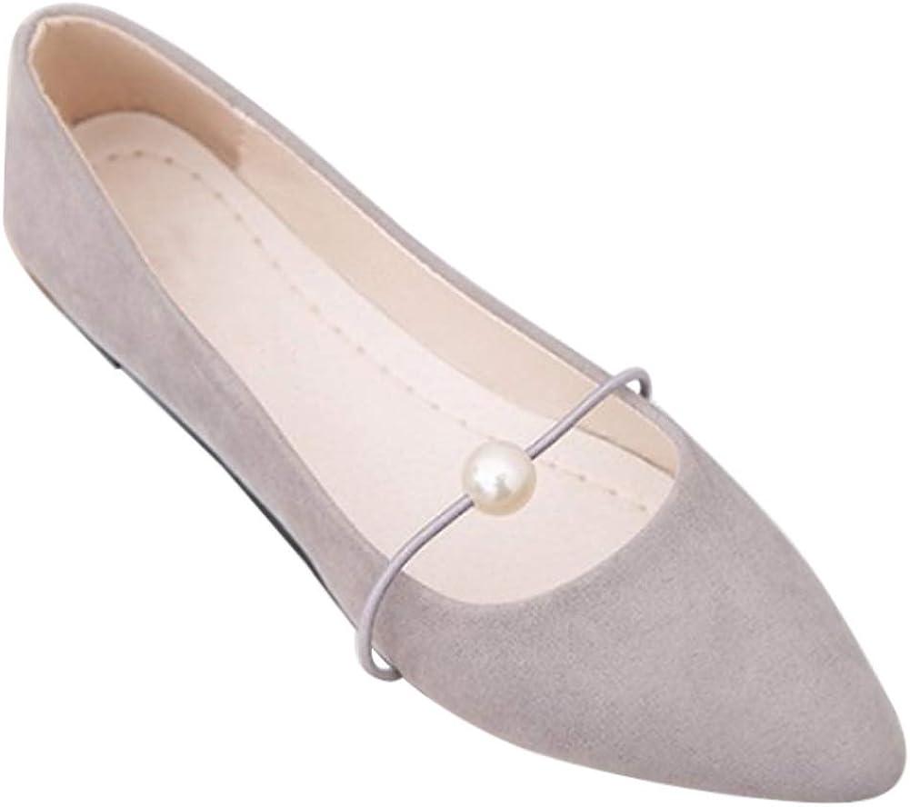 Gtagain Chaussures Femme Ballerines Été Mode Plat
