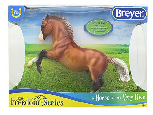 Breyer Horse SingleSilver Bay Mustang Toy, Multicolor