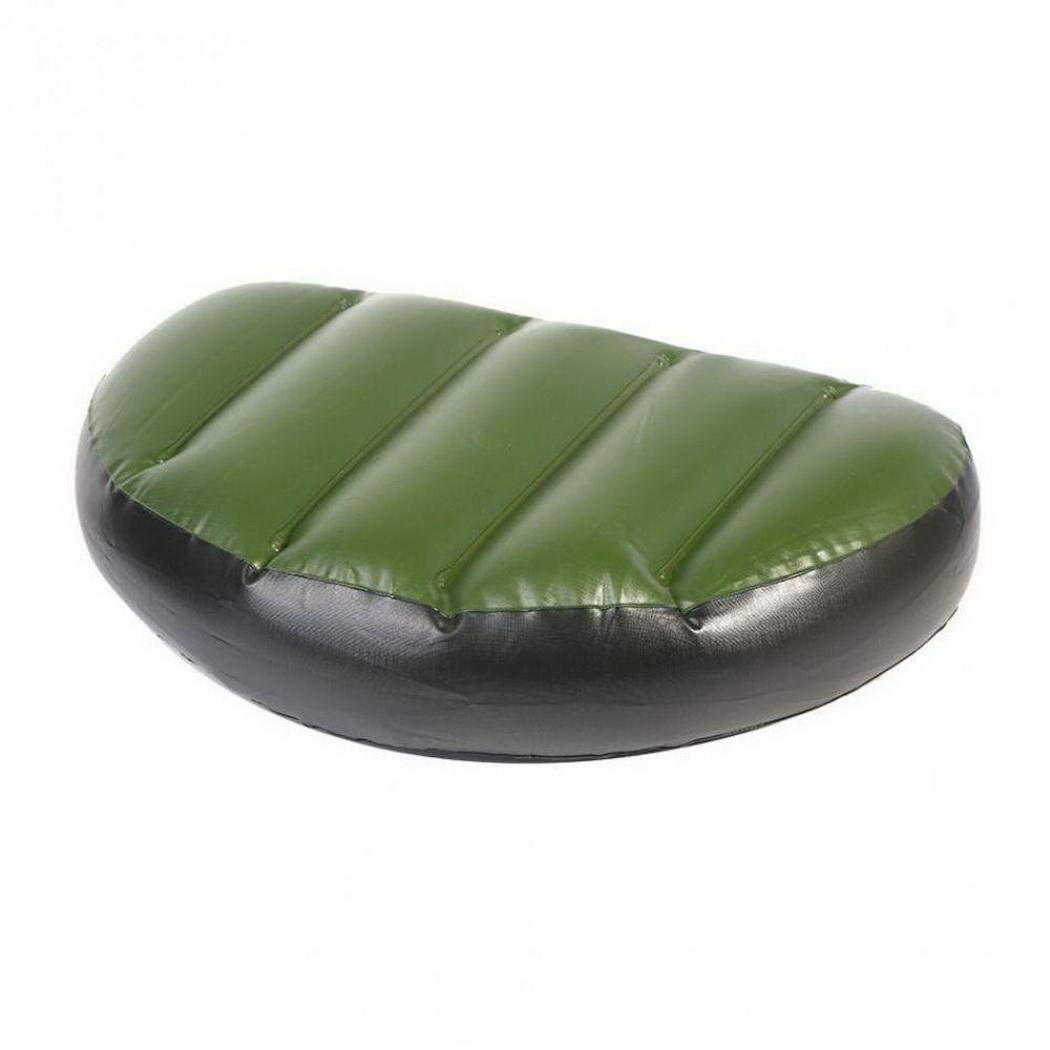 Pinsparkle Portable PVC Inflatable Boat Cushion Drifting Canoe Seat Pad Kayak Accessories Rowers
